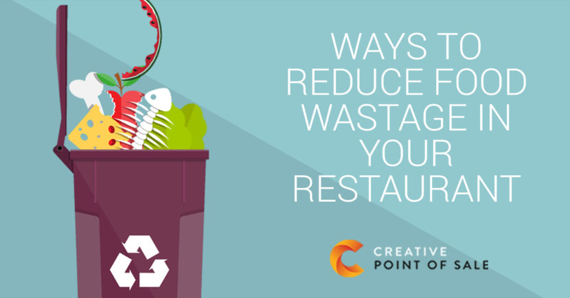 reducing food wastage within your restaurant vector