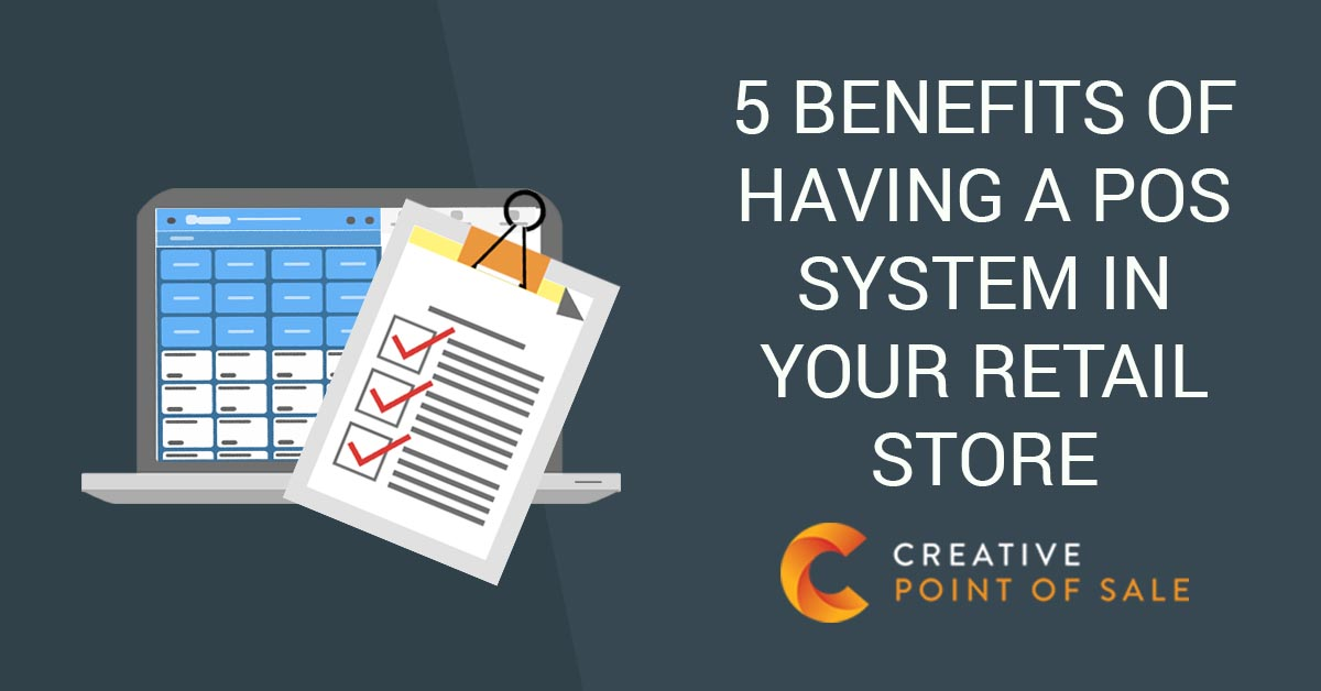 benefits of pos in retail store